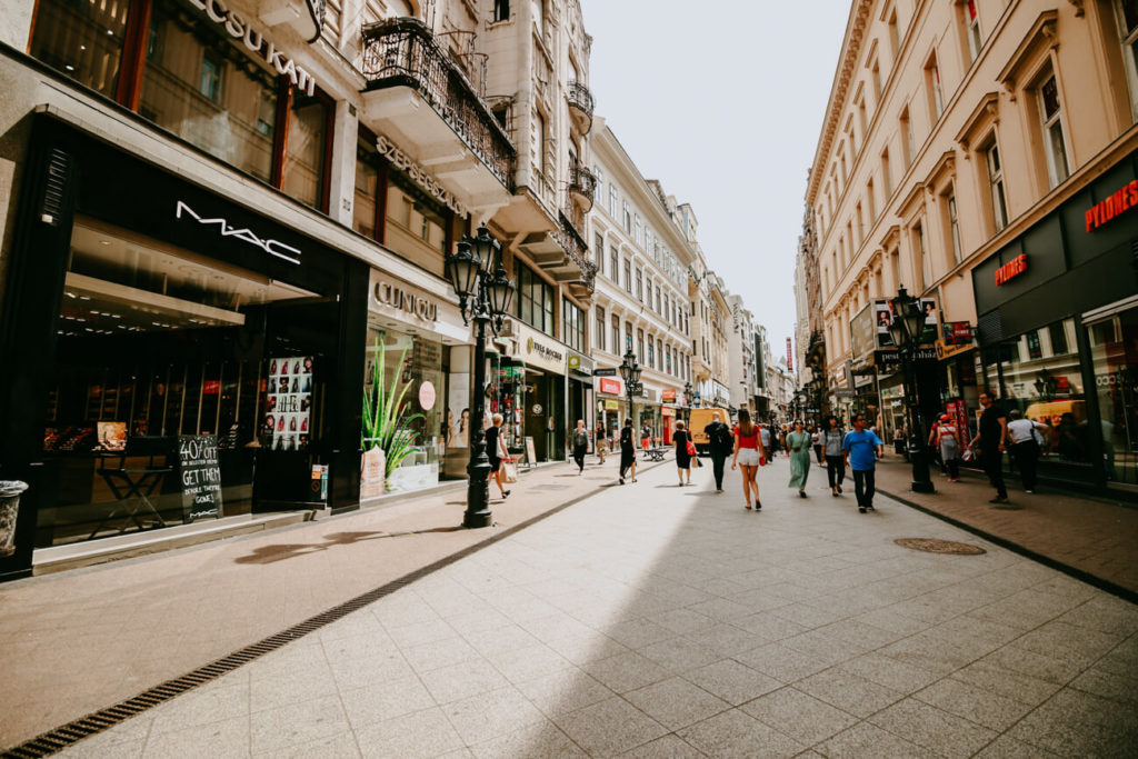 ulice w Budapeszcie