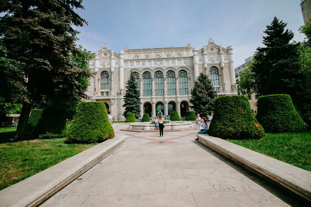 architektura w Budapeszcie