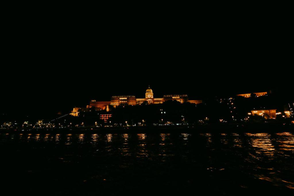 Rejs nocny po Dunaju