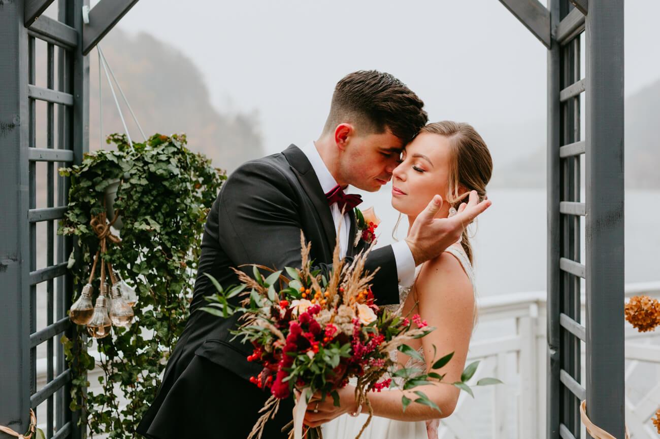 sesja ślubna w zagórzu śląskim
